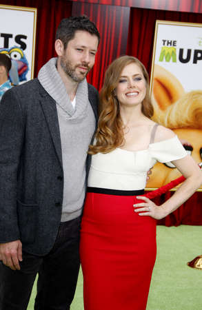 darren: Darren Le Gallo and Amy Adams at the World premiere of The Muppets held at El Capitan Theater in Hollywood, USA on November 12, 2011.