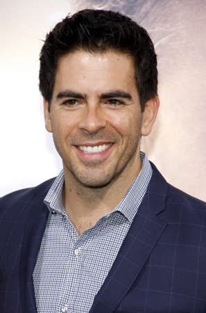 diviner: Eli Roth at the Los Angeles premiere of The Water Diviner held at the TCL Chinese Theatre IMAX in Hollywood, USA on April 16, 2015.