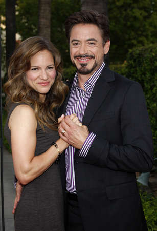 soloist: Robert Downey Jr. and Susan Downey at the Los Angeles premiere of The Soloist held at the Paramount Studios Theatre in Hollywood on April 20, 2009.