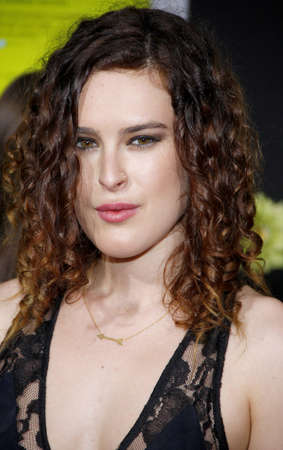 wallflower: Rumer Willis at the Los Angeles premiere of The Perks Of Being A Wallflower held at the ArcLight Cinemas in Hollywood on September 10, 2012. Editorial