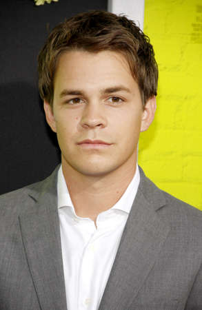 wallflower: Johnny Simmons at the Los Angeles premiere of The Perks Of Being A Wallflower held at the ArcLight Cinemas in Hollywood on September 10, 2012 Editorial