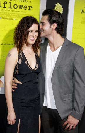 wallflower: Jayson Blair and Rumer Willis at the Los Angeles premiere of The Perks Of Being A Wallflower held at the ArcLight Cinemas in Hollywood on September 10, 2012.