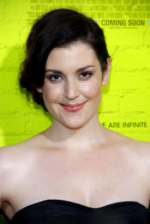 wallflower: Melanie Lynskey at the Los Angeles premiere of The Perks Of Being A Wallflower held at the ArcLight Cinemas in Hollywood on September 10, 2012.