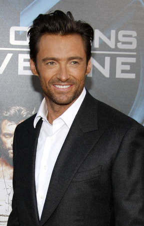 hugh: Hugh Jackman at the Los Angeles premiere of X-Men Origins: Wolverine held at the Graumans Chinese Theatre in Hollywood on April 28, 2009. Editorial