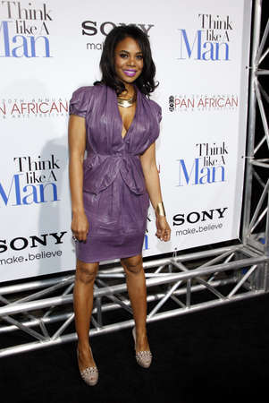 regina: Regina Hall at the Los Angles premiere of Think Like a Man held at the ArcLight Cinemas in Hollywood, USA on February 9, 2012.
