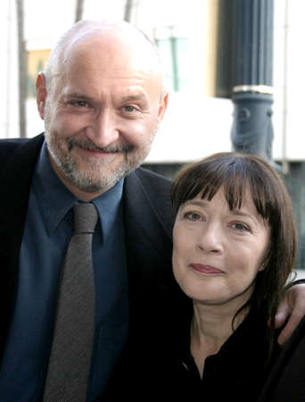 redemption: BEVERLY HILLS, CA - SEPTEMBER 23, 2004: Frank Darabont and Niki Marvin at the 10th Anniversary Screening of The Shawshank Redemption held at the AMPAS in Beverly Hills, USA on September 23, 2004.