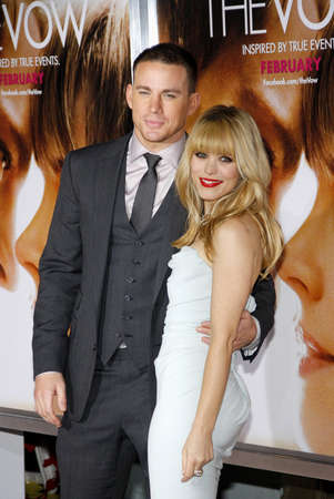 vow: Rachel McAdams and Channing Tatum at the Los Angeles premiere of The Vow held at the Graumans Chinese Theatre in Hollywood on February 6, 2012. Editorial