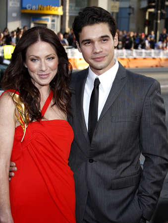 origins: Lynn Collins and Steven Strait at the Los Angeles premiere of X-Men Origins: Wolverine held at the Graumans Chinese Theatre in Hollywood on April 28, 2009.