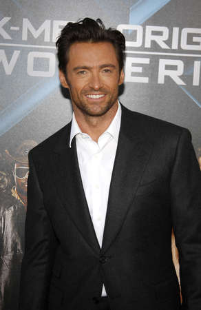 origins: Hugh Jackman at the Los Angeles premiere of X-Men Origins: Wolverine held at the Graumans Chinese Theatre in Hollywood on April 28, 2009. Editorial