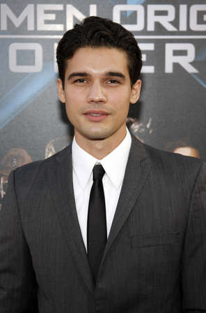 Steven Strait at the Los Angeles premiere of X-Men Origins: Wolverine held at the Graumans Chinese Theatre in Hollywood on April 28, 2009.