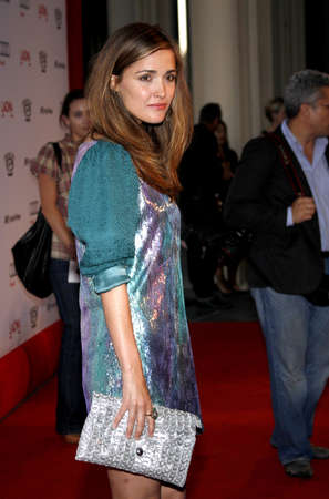 LOS ANGELES, CA - SEPTEMBER 08, 2009: Rose Byrne at the Los Angeles premiere of The September Issue held at the LACMA in Los Angeles, USA on September 8, 2009. Редакционное