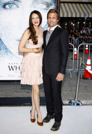 macht: Gabriel Macht and Jacinda Barrett at the Los Angeles premiere of Whiteout held at the Mann Village Theatre in Westwood on September 9, 2009.