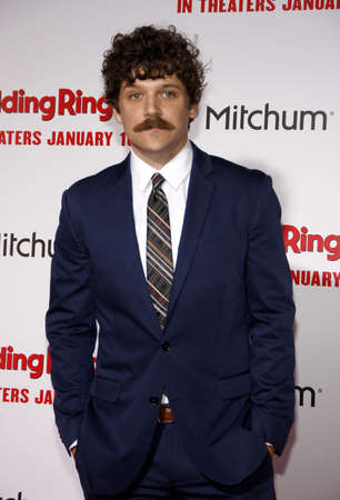 gill: Dan Gill at the Los Angeles premiere of The Wedding Ringer held at the TCL Chinese Theater in Hollywood on January 6, 2015.