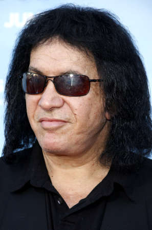 Gene Simmons at the Los Angeles premiere of Thats My Boy held at the Westwood Village Theater in Los Angeles, USA on June 4, 2012. Редакционное