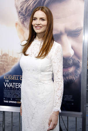 diviner: Saffron Burrows at the Los Angeles premiere of The Water Diviner held at the TCL Chinese Theatre IMAX in Hollywood, USA on April 16, 2015.