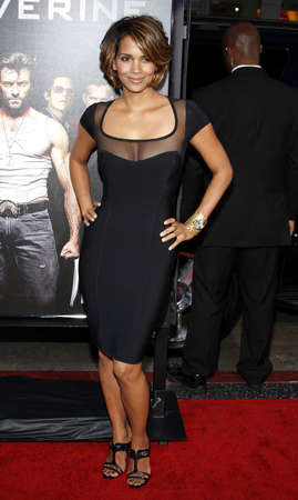 Halle Berry at the Los Angeles premiere of X-Men Origins: Wolverine held at the Graumans Chinese Theatre in Hollywood on April 28, 2009