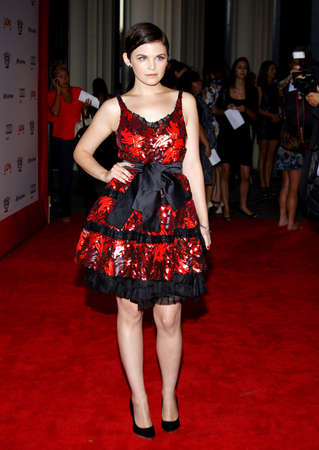 LOS ANGELES, CA - SEPTEMBER 08, 2009: Ginnifer Goodwin at the Los Angeles premiere of The September Issue held at the LACMA in Los Angeles, USA on September 8, 2009. Редакционное