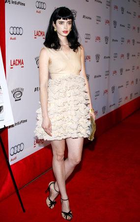 LOS ANGELES, CA - SEPTEMBER 08, 2009: Krysten Ritter at the Los Angeles premiere of 'The September Issue' held at the LACMA in Los Angeles, USA on September 8, 2009.