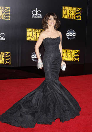 to paula: Paula Abdul at the 2009 American Music Awards at Nokia Theatre L.A. Live in Los Angeles, USA on November 22, 2009.