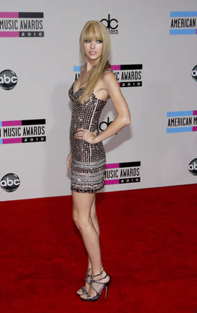 Taylor Swift at the 2010 American Music Awards held at Nokia Theatre L.A. Live in Los Angeles, USA on November 21, 2010. Editorial