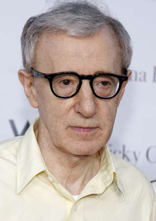 Woody Allen at the Los Angeles premiere of Vicky Cristina Barcelona held at the Mann Village Theatre in Westwood, USA on August 4, 2008.