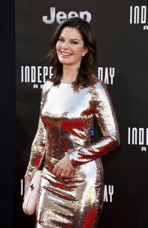 resurgence: Sela Ward at the Los Angeles premiere of Independence Day: Resurgence held at the TCL Chinese Theatre in Hollywood, USA on June 20, 2016.