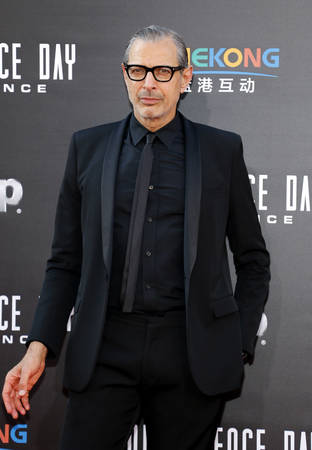 Jeff Goldblum at the Los Angeles premiere of Independence Day: Resurgence held at the TCL Chinese Theatre in Hollywood, USA on June 20, 2016.