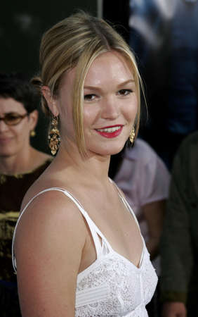 Julia Stiles at the Los Angeles premiere of The Bourne Ultimatum Los Angeles Premiere held at the ArcLight Cinemas in Hollywood, USA on July 25, 2007. Editorial