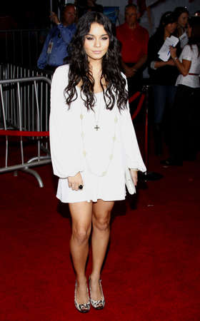 vanessa: Vanessa Hudgens at the Los Angeles premiere of High School Musical 3: Senior Year held at the Galen Center in Los Angeles, USA on October 16, 2008.