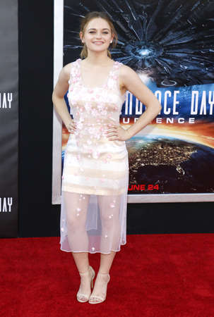 resurgence: Joey King at the Los Angeles premiere of Independence Day: Resurgence held at the TCL Chinese Theatre in Hollywood, USA on June 20, 2016.