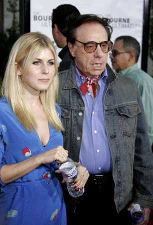 ultimatum: Peter Bogdanovich at the Los Angeles premiere of The Bourne Ultimatum held at the ArcLight Cinemas in Hollywood, USA on July 25, 2007. Editorial