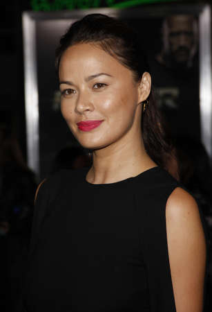 Moon Bloodgood at the Los Angeles premiere of Faster held at the Graumans Chinese Theater in Hollywood, USA on November 22, 2010.