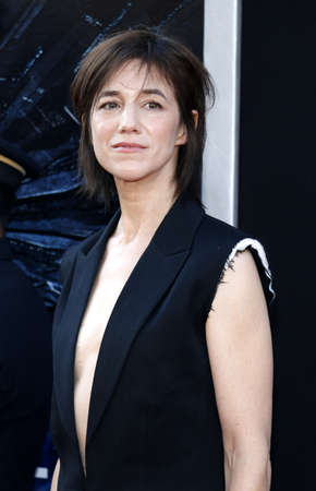 resurgence: Charlotte Gainsbourg at the Los Angeles premiere of Independence Day: Resurgence held at the TCL Chinese Theatre in Hollywood, USA on June 20, 2016. Editorial
