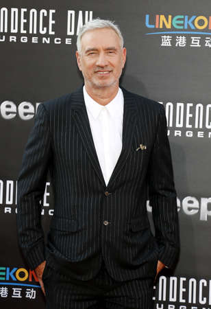 resurgence: Roland Emmerich at the Los Angeles premiere of Independence Day: Resurgence held at the TCL Chinese Theatre in Hollywood, USA on June 20, 2016. Editorial