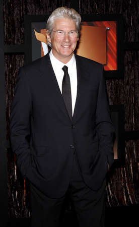 Richard Gere at the VH1s 14th Annual Critics Choice Awards held at the Santa Monica Civic Auditorium in Santa Monica, USA on January 8, 2009. Editorial
