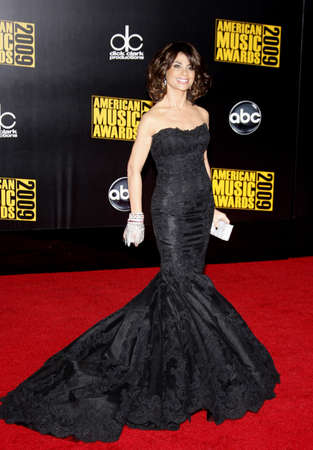 Paula Abdul at the 2009 American Music Awards held at the Nokia Theater in Los Angeles, USA on November 22, 2009.