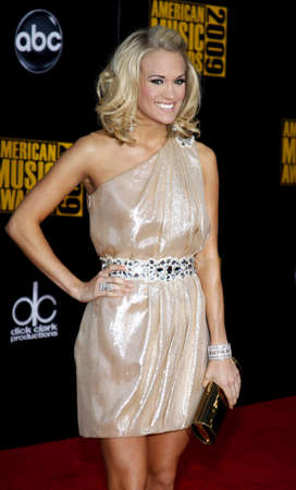 Carrie Underwood at the 2009 American Music Awards held at the Nokia Theater in Los Angeles, USA on November 22, 2009. Editorial