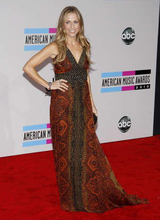 Sheryl Crow at the 2010 American Music Awards held at the Nokia Theatre L.A. Live in Los Angeles, USA on November 21, 2010. Editorial