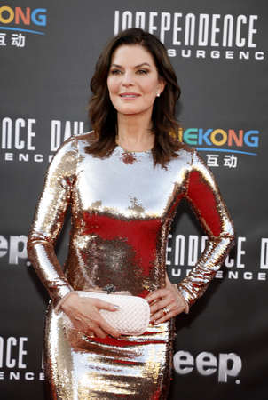 Sela Ward at the Los Angeles premiere of Independence Day: Resurgence held at the TCL Chinese Theatre in Hollywood, USA on June 20, 2016.