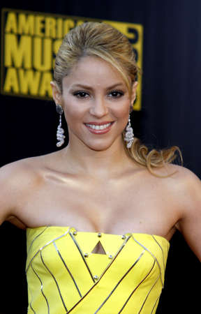 22112009 - Los Angeles - Shakira at the 2009 American Music Awards held at the Nokia Theater in Los Angeles, California, United States. Sajtókép
