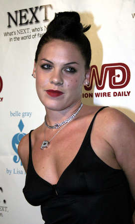 Pink at the 2nd Semi Annual Fashion Wire Dailys event NEXT held at Mondrian Hotels SkyBar in West Hollywood, USA on October 25, 2004.