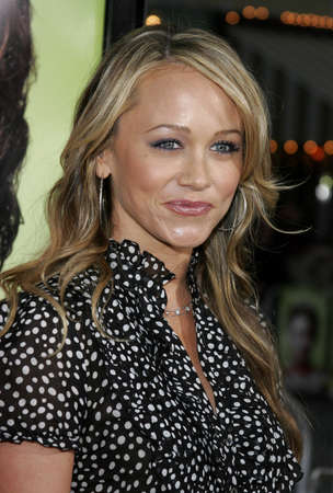 Christine Taylor attends Los Angeles Premiere of
