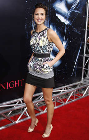 Arielle Kebbel at the World premiere of