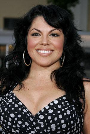 """Sara Ramirez alla premiere di Los Angeles di """"Knocked Up"""" tenutosi al Mann Village Theatre a Westwood, California, Stati Uniti il ??21 maggio 2007. Archivio Fotografico - 77802259"""