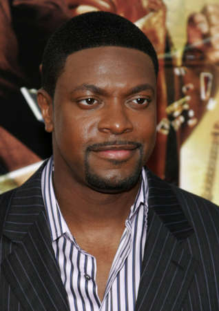 Chris Tucker at the Los Angeles premiere of Rush Hour 3 held at the Graumans Chinese Theater in Hollywood, California United States on July 30, 2007.