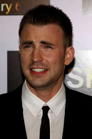 Chris Evans at the Los Angeles premiere of Push held at the Mann Village Theater in Westwood, California, United States on January 29, 2009. Editorial