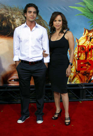 perez: Rosie Perez at the World premiere of Pineapple Express held at the Mann Village Theater in Westwood, California, United States on July 31, 2008. Editorial