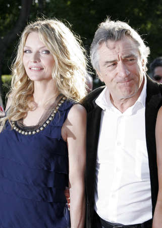 Michelle Pfeiffer and Robert De Niro at the Los Angeles premiere of Stardust held at the Paramount Pictures Studios in Hollywood, USA on July 29, 2007.