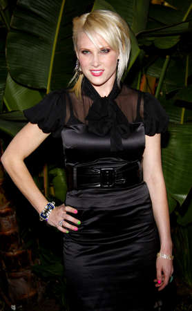 Lucy Walsh at the Scandinavian Style Mansion held at the Private Residence in Beverly Hills, California, United States on March 14, 2008.