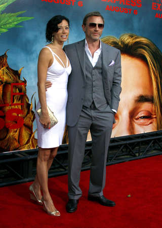 Daniel Craig at the Los Angeles premiere of 'Pineapple Express' held at the Mann Village Theater in Los Angeles, USA on July 31, 2008.